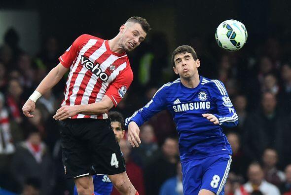 Ocho minutos después el Southampton lograría el gol del empate obra de D...