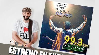 La Kalle 99.3 FM estrena en exclusiva el nuevo sencillo de Juan Luis Gue...