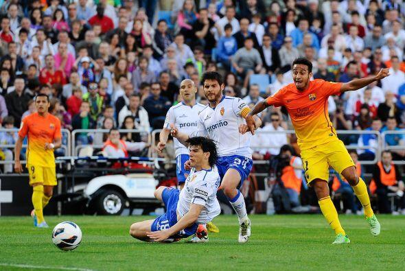 Pero ni siquiera las ausencias afectaron a los catalanes para ponerse ar...