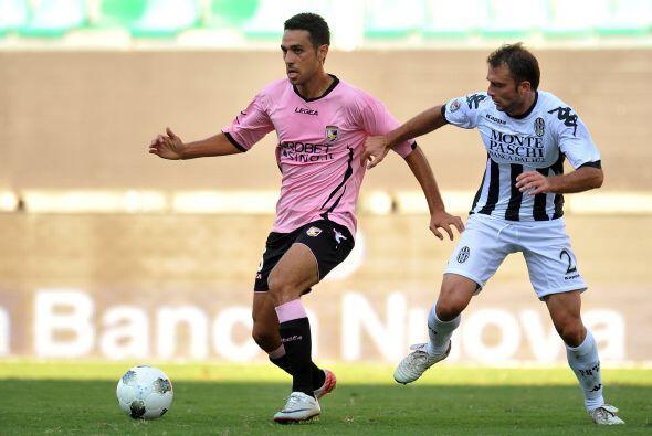 Palermo recibía al Siena en su cancha.