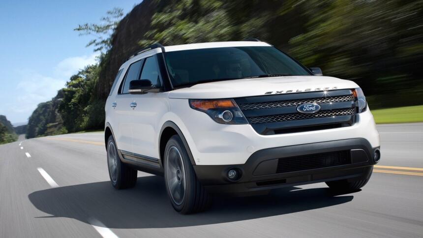 Estos son los autos con el índice de mortalidad más bajo en EEUU Ford-Ex...