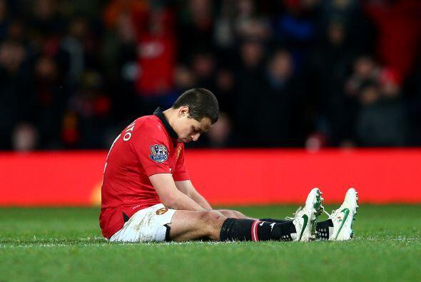 Javier no entró en los planes del Manchester United y de su nuevo entren...