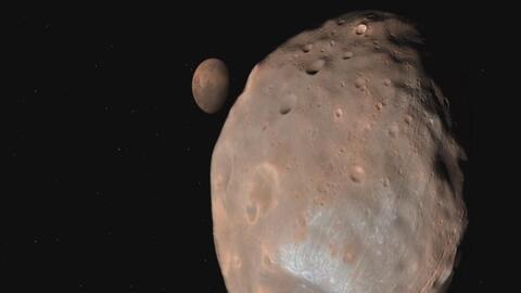 Las impresionantes imágenes que recrean la geografía de Marte