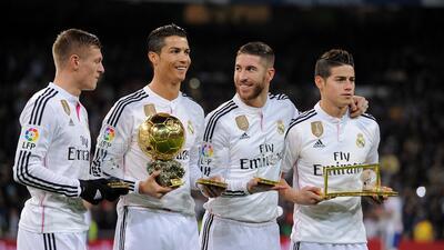 El Real Madrid fue reconocido como el mejor club del mundo.