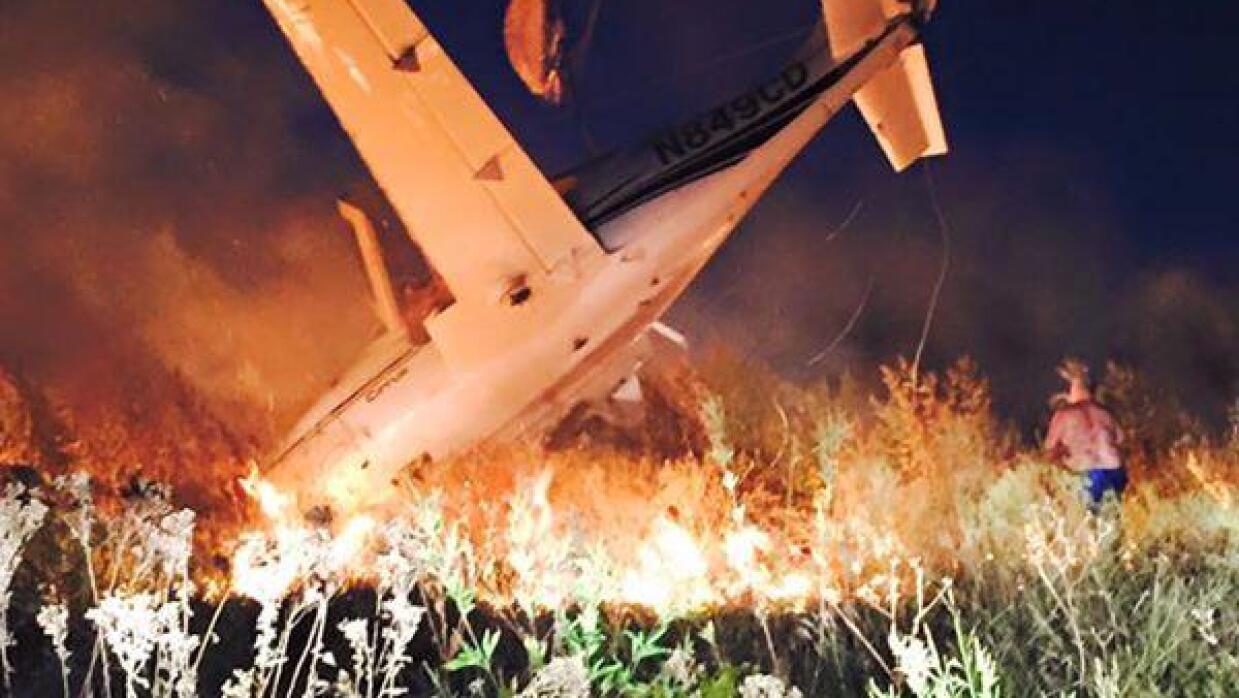Avión en Lancaster