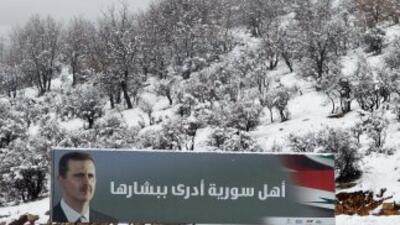 Siria está envuelta en un conflicto interno desde el 15 de marzo pasado...