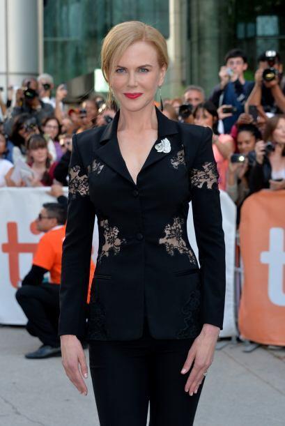Nicole Kidman lo lució en su 'blazer' y aunque no nos fascinó el diseño,...