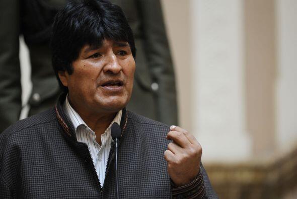 El presidente Evo Morales dijo 'Este tema del deslizamiento es como un t...