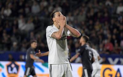 'Ibra' quedó poco conforme con la actuación de LA Galaxy a...