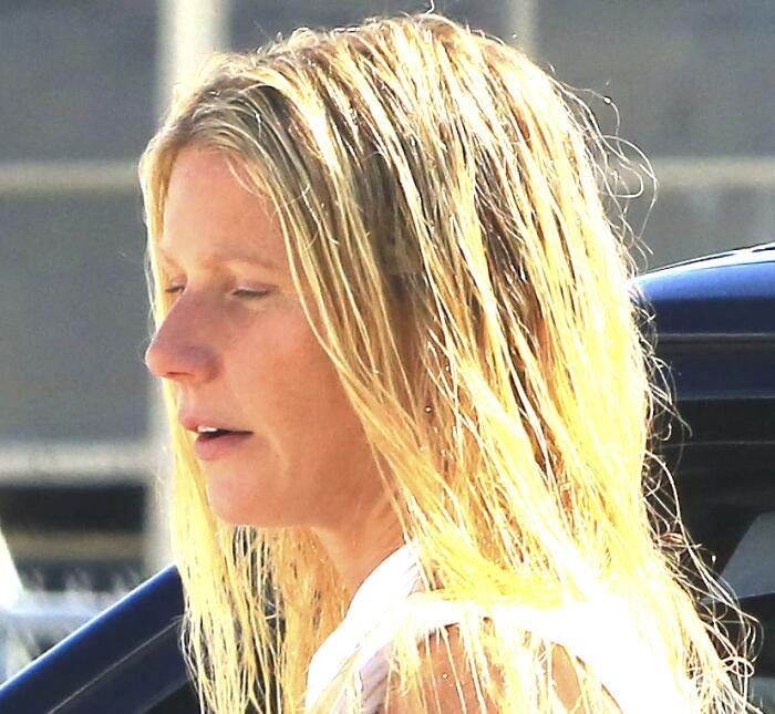 La famosa llegó con la cara lavada y recién bañadita a un día de trabajo...