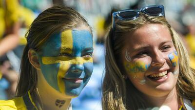 San Petersburgo brilló con la presencia de las aficionadas de Suecia y Suiza