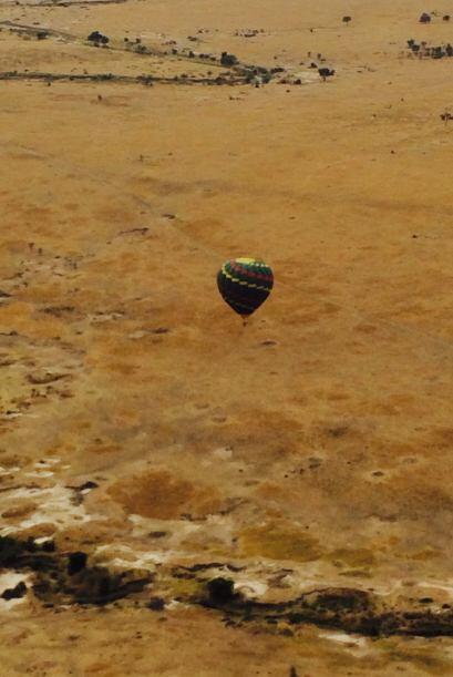 Por si fuera poco, la familia de Lili voló en globo aerostático sobre el...