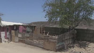 Entre México y Estados Unidos: familias tendrían que abandonar su hogar por construcción del muro
