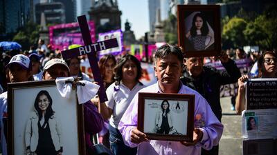 En fotos: Miles de personas salen a las calles para protestar contra la violencia machista