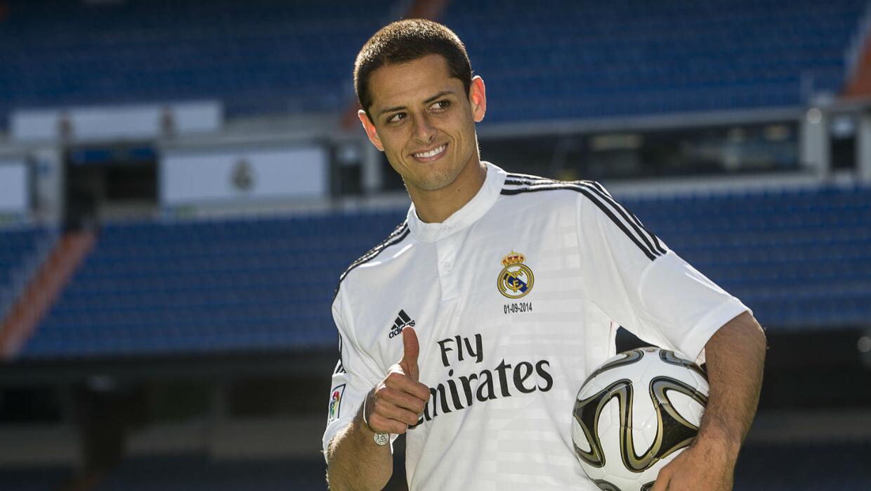 Javier Hernández jugó una temporada con el Real Madrid.
