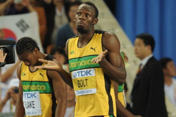 La más grande y quizá trágica ausencia fue ver a Usain Bolt descalificad...