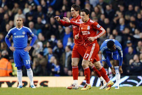 El 'Niño' le dio la ventaja al Liverpool y aunque aún faltaba mucho tiem...