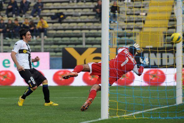 Marcó el segundo tanto para la victoria de su equipo, el Parma, en contr...