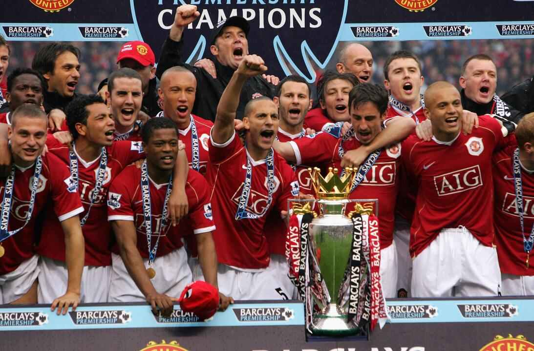 9. Manchester United (2006/2007) - 89 puntos y +56 en la diferencia de g...