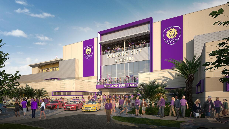Finalmente el estadio de Orlando City estará listo para 2017.