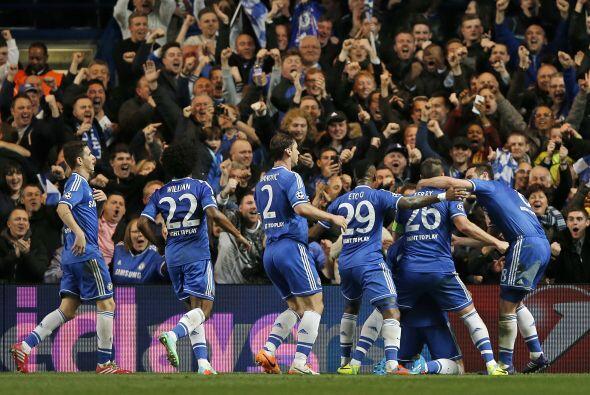 Los 'Blues' ya se sentían en cuartos de final, aunque aún restaba medio...