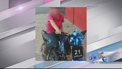Trágico accidente: Menor de 5 años muere tras chocar motora