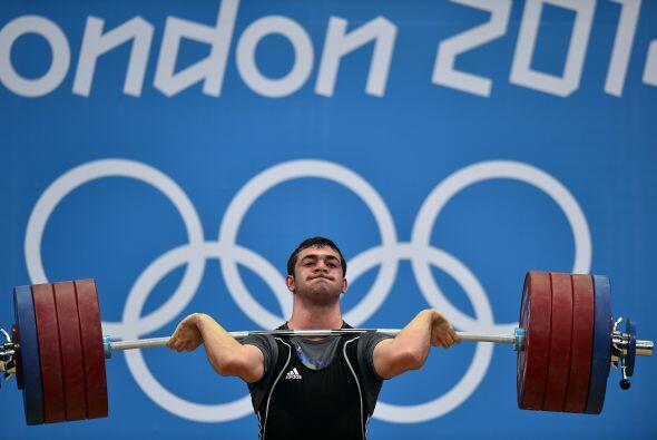 Saeid Mohammadpourkarkaragh,es un halterófilo iraní, que participó en l...