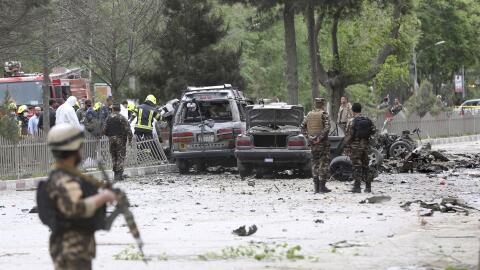 El atentado se cometió con un carro bomba