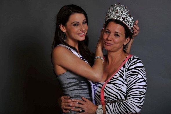 Desde que comenzó en Nuestra Belleza Latina, Nastassja siempre llevó con...