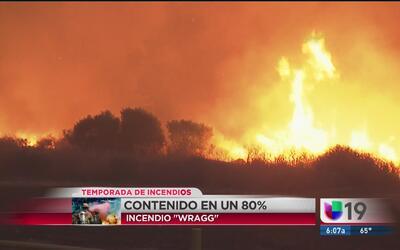 Continúan incendios en California