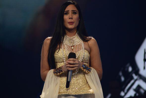 Geissie se puso a llorar en el escenario, pero fue algo que conectó con...