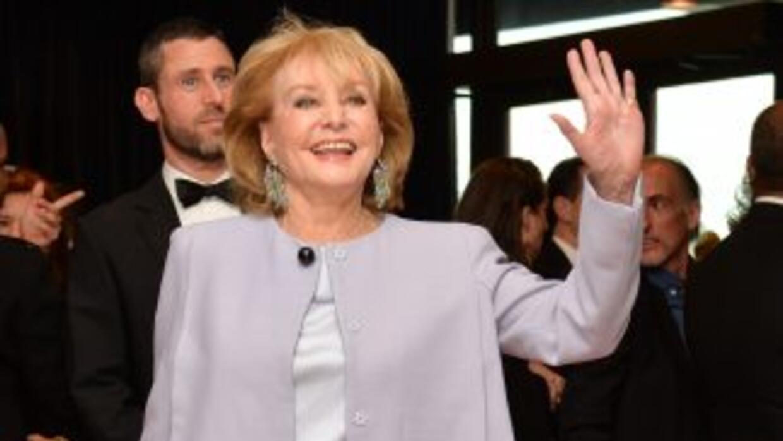 Barbara Walters se retira del periodismo.