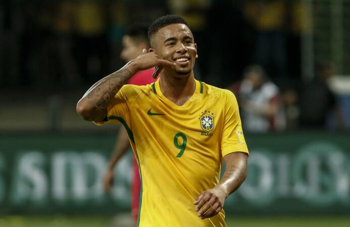 Gabriel Jesús - 20 años (Brasil / Manchester City)