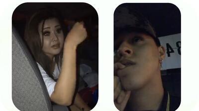Gomita chocó en su camioneta y su hermano Lapizito transmiti&oacu...