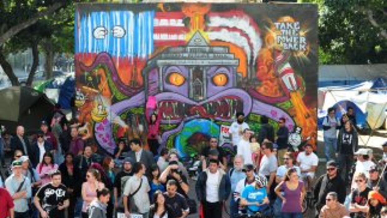 """California es la cuna de un nuevo movimiento de """"indignados"""" que tiene c..."""