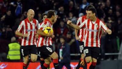 El gol de Aduriz al minuto 69 marcó el 2-2 definitivo, que aún no le alc...