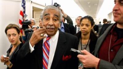 El legislador Charles Rangel, demócrata por New York.
