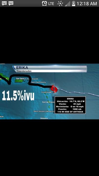 El paso de la tormenta tropical por la Isla ha desatado la ingenuidad de...