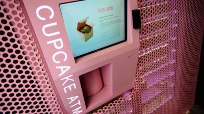 Llega a Florida la primera ATM de 'cupcakes'