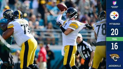 Los Steelers vinieron de atrás y le sacaron el juego del bolsillo a los Jaguars