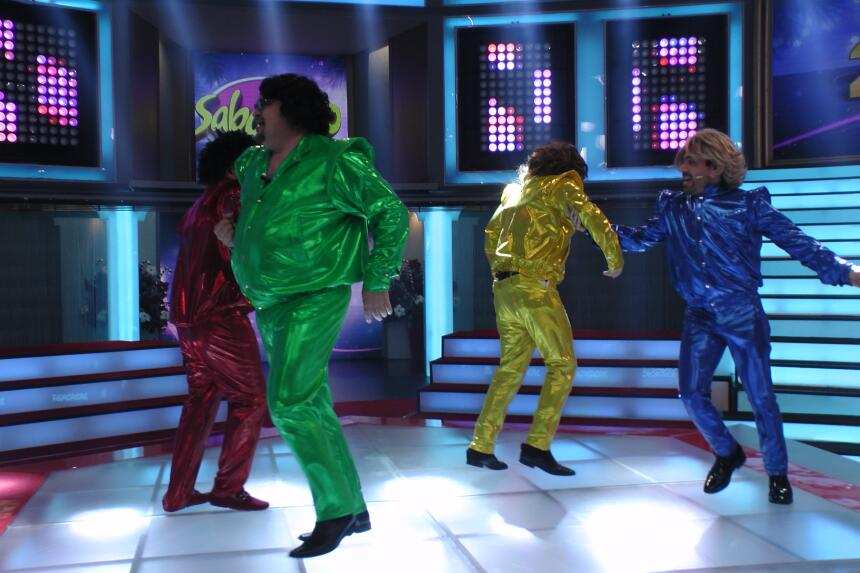 Mimoso y los Chicos Pop deleitaron a su público antes de que acabara el...
