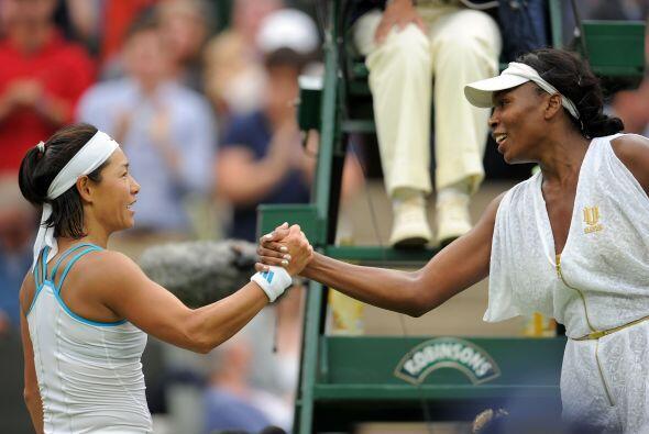 """""""Estoy aliviada de haber avanzado a la siguiente ronda, ella jugó tan pe..."""