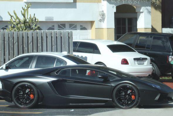 El cubano ha expresado la pasión que siente por los automóviles deportiv...