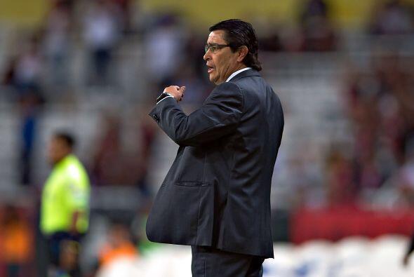 Luis Fernando Tena, entrenador celeste, ya optó por jugar con Christian...