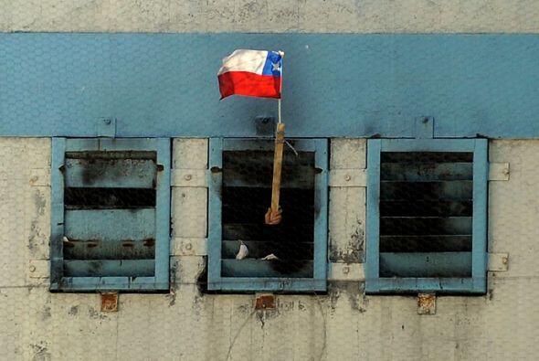 Un incendio en la prisión de San Miguel, ubicada al sureste de la...