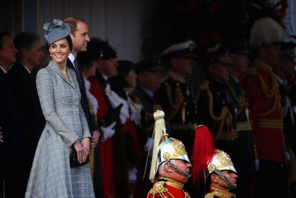 La sonrisa de Kate nos dice todo.