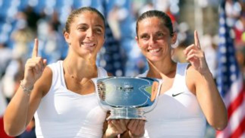 Errani y Vinci ganan el US Open