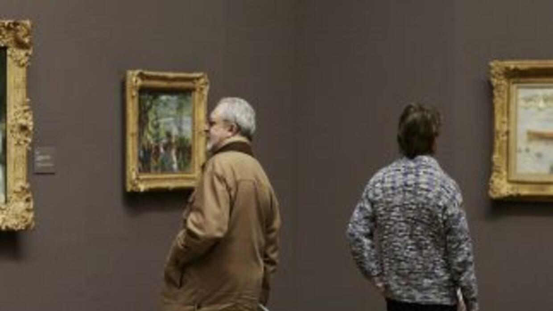 Apenas siete dólares pagó una mujer por una pintura del impresionista Pi...