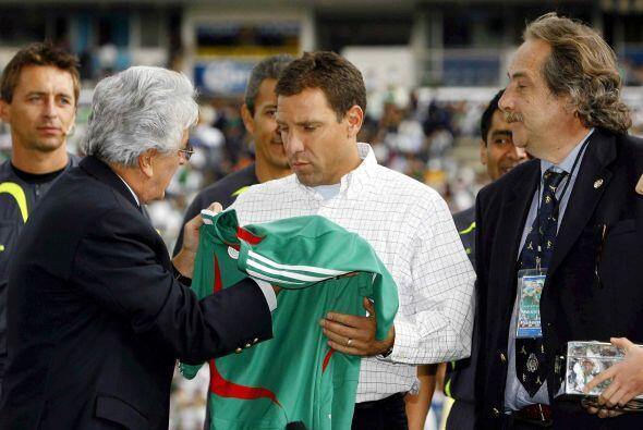 Una de ellas fue el homenaje que se le rindió al capitán Alberto García...