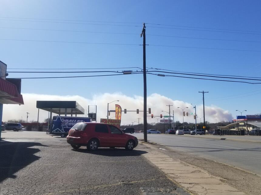Issa Arredondo comparte esta imagen desde Fort Worth.